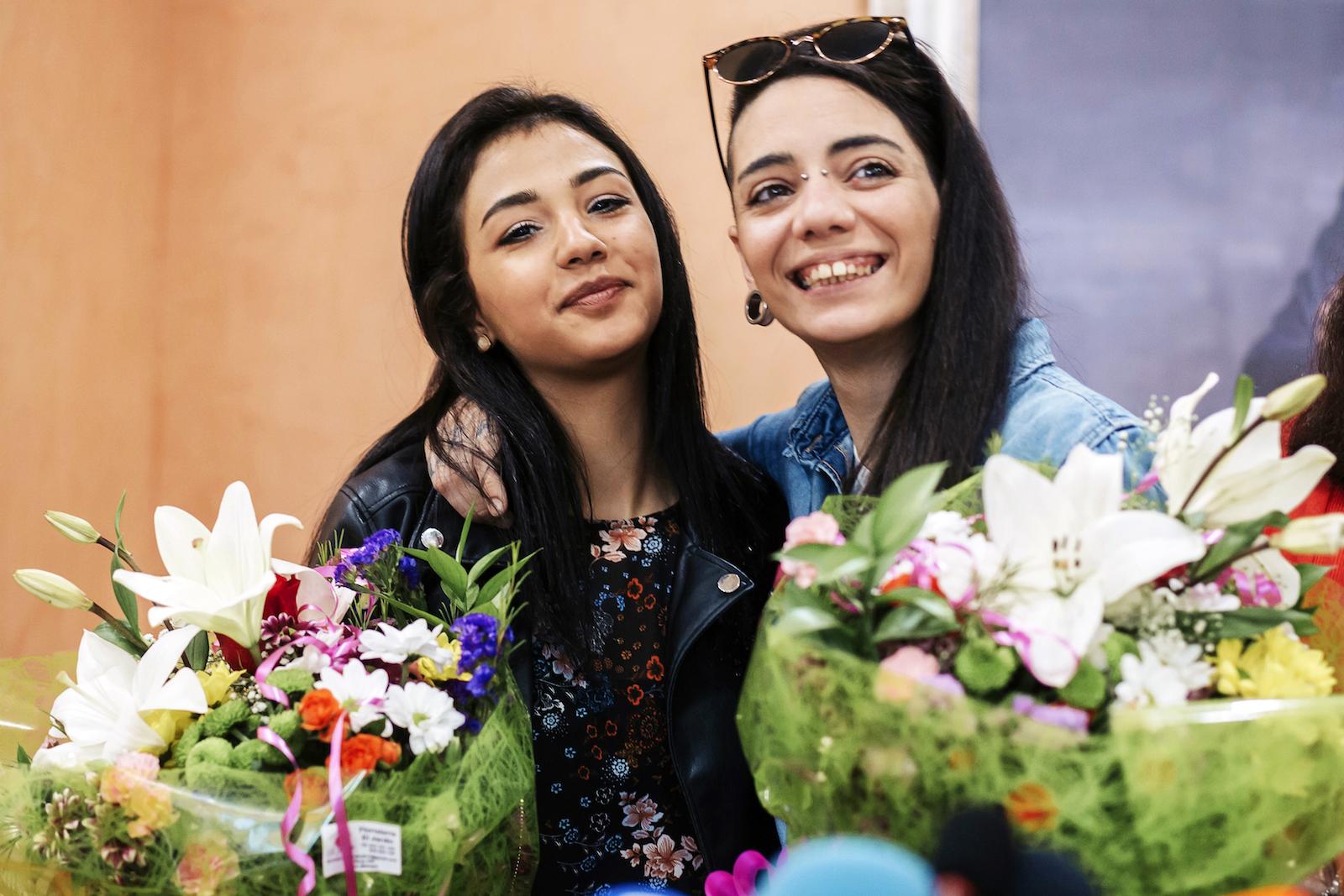 ხიმენა რიკო და შაზა ისმაილი დაქორწინებას აპირებენ © EPA/CARLOS DIAZ
