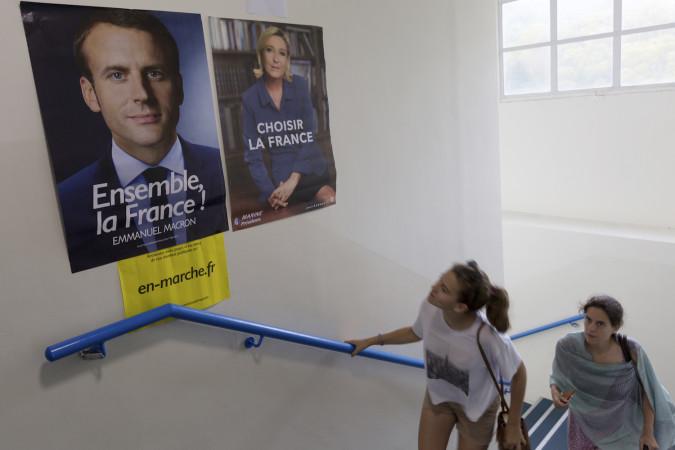 საპრეზიდენტო არჩევნები საფრანგეთში ©  EPA/JEROME FAVRE