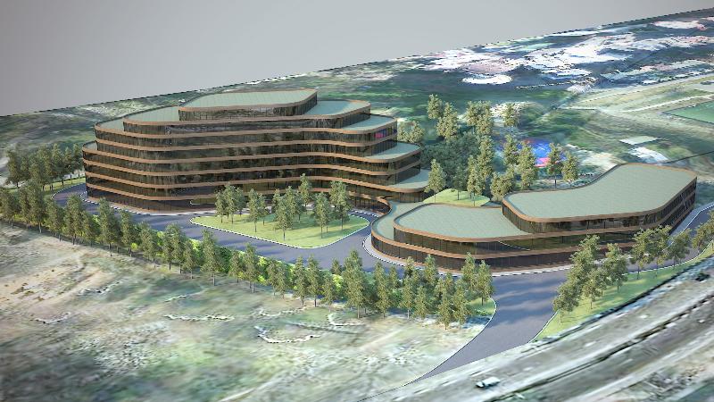 მზიურის ტერიტორიაზე ასაშენებელი სასტუმროს პროექტი. ინფორმაცია არქიტექტურის სამსახურიდან