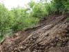 ბათუმი-ახალციხის გზაზე 19 მაისს ძლიერი წვიმის შედეგად მეწყერი ჩამოწვა. ფოტო: საავტომობილო გზების დეპარტამენტი