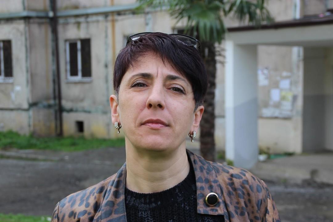 ლარისა ცკუა; ფოტო: ნეტგაზეთი/მარიანა კოტოვა