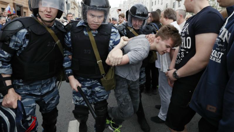 ოპოზიციის აქცია მოსკოვში ფოტო: ეპა/SERGEI CHIRIKOV