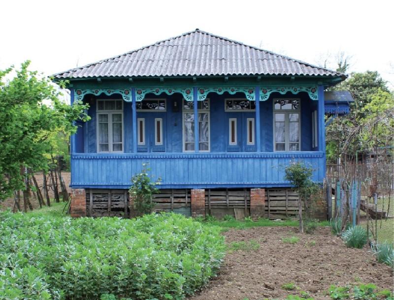 ლურჯი ოდა