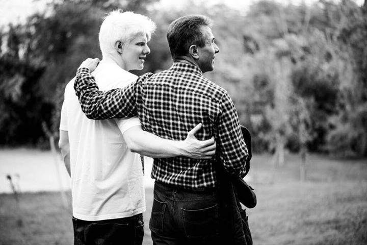 ბერა: მამაჩემი ყოველდღე ვარჯიშობს, ჯანმრთელობით ნებისმიერ ახალგაზრდას შეედრება