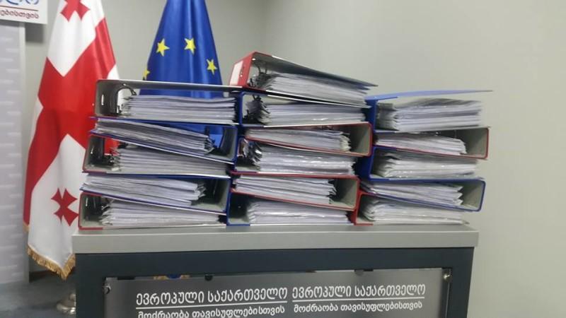 ევროპულმა საქართველომ პლებისციტის დანიშვნაზე ხელმოწერები შეაგროვა