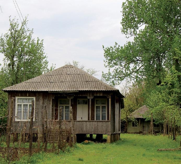 გრიგოლიების სახლი ძველ აბაშაში