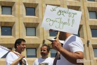 აქციის მონაწილეებმა მოითხოვეს ჩაბუქის გათავისუფლება და მოუწოდეს სახელმწიფოს არ გადასცეს ის თურქეთს 07.06.17 ფოტო: ნეტგაზეთი/გუკი გიუნაშვილი