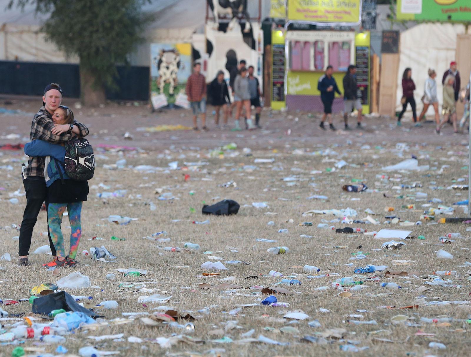 ფესტივალი დასრულდა © EPA/NIGEL RODDIS