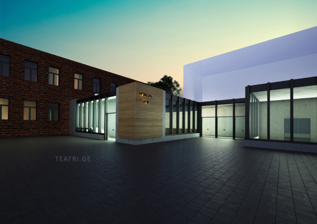 ასე გამოიყურება პროექტი, რომლის მიხედვითაც, თოჯინების თეატრის ახალი შენობა უნდა აშენდეს