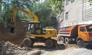 მშენებლობა ბარნოვის 10-ში