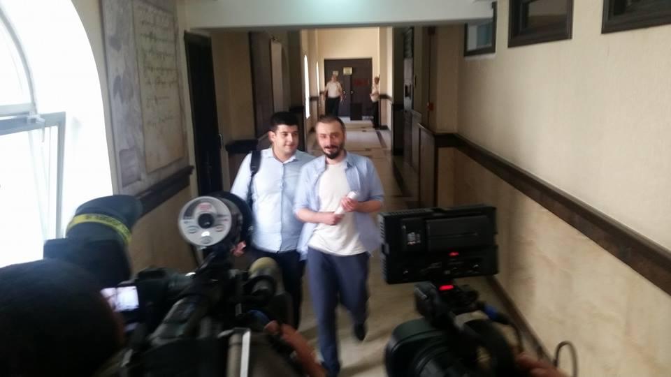 ბახალა პატიმრობიდან გაათავისუფლეს, 14.07.2017. ფოტო: მარიამ ბოგვერაძე/ნეტგაზეთი
