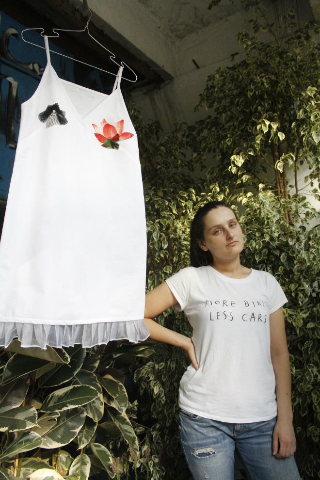დიზაინერი ელენე გელაშვილი. Kikala Youth - ახალგაზრდული ტანსაცმლის ხაზი. ატელიამ ზაფხულის კოლექცია წარმოადგინა 22.07.17 ფოტო: ნეტგაზეთი/გუკი გიუნაშვილი