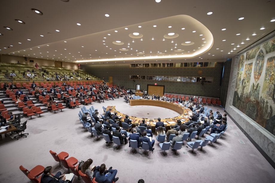 გაეროს უშიშროების საბჭო; ფოტო: UN-ის ვებ-გვერდი