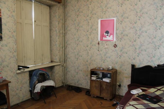 სტუდენის ოთახი. მანანა ქველიაშვილის ფოტო