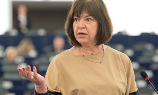 ევროპარლამენტარი რებეკა ჰარმსი. ფოტო: ევროპარლამენტი