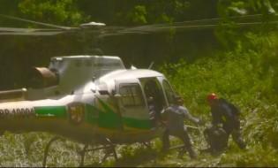 შსს-ს თანამშრომლებმა 5 დაკარგული ტურისტი შატილის ხეობიდან გამოიყვანეს. ფოტო: შსს