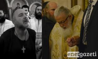 გია გაჩეჩილაძის (უცნობი) თქმით, სქემარქიმანდრიტ სერაფიმესთან ერთად მონასტერში პატრიარქის ლოცვა–კურთხევით გამართა წარმოდგენა