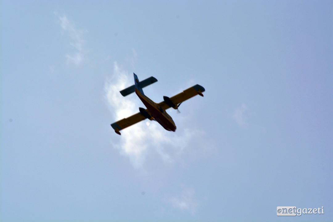 თურქეთის სამაშველო თვითმფრინავი ფოტო: ნეტგაზეთი/მარიამ ბოგვერაძე