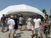 GEM Fest-ზე დასაქმებულების აქცია ანაკლიაში. 14.08.2017 ფოტო: ცაბუნია ვართაგავა