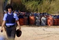 ბარსელონაში პოლიციამ 120 გაზის ავზი იპოვა, რომლებიც სავარაუდოდ ტერორისტებისა. ფოტო: AFP / Getty Images
