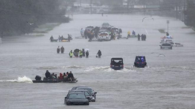 წყალდიდობა ლუიზიანას შტატში, აშშ. ფოტო: REUTERS