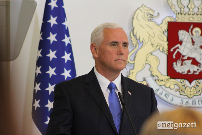 აშშ-ის ვიცეპრეზიდენტი მაიკ პენსი საქართველოში 01.08.17 ფოტო: ნეტგაზეთი/გუკი გიუნაშვილი