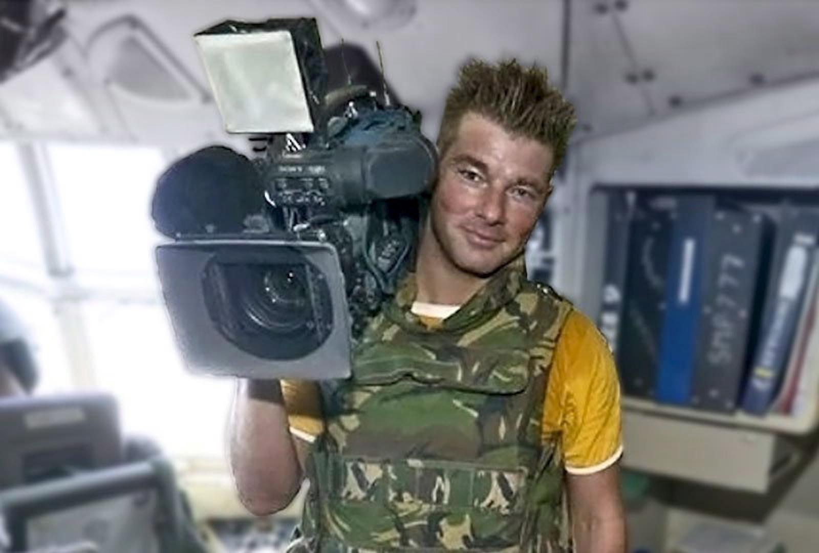 RTL-ის ოპერატორი სტენ სტორიმანსი დაიღუპა გორის დაბომბვის დროს EPA/COMM RTL