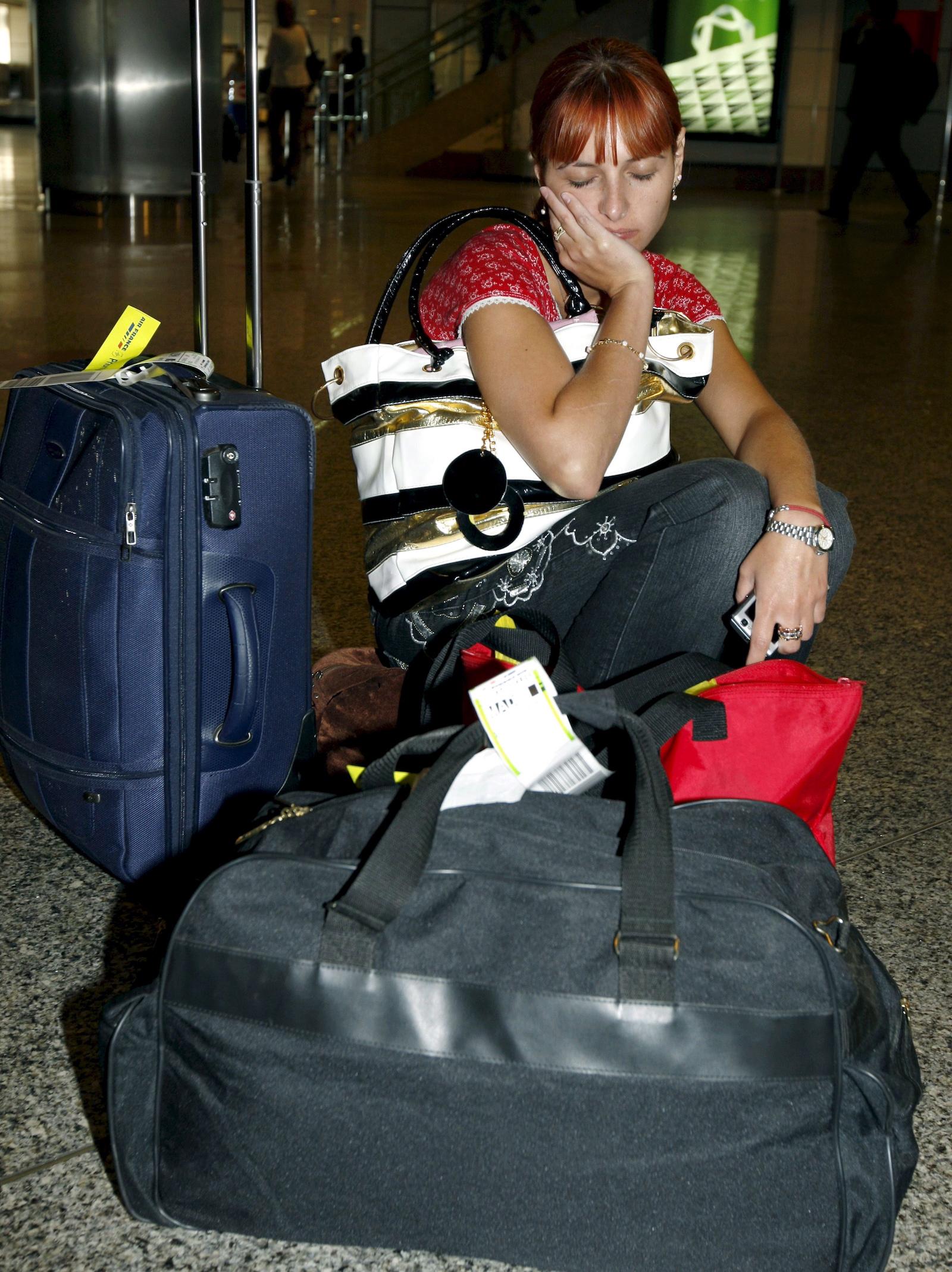 საქართველოშ მყოფი ესპანელი ტურისტები სამშობლოში ბრუნდებიან © EPA/MANUEL H. DE LEON