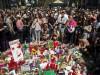 ბარსელონაში გარდაცვლილების ხსოვნას პატივი მიაგეს 19.08.17 ფოტო: EPA/QUIQUE GARCIA