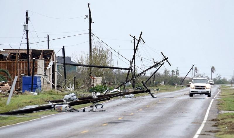 ქარიშხალი ტეხასის შტატში. EPA-EFE/DARREN ABATE