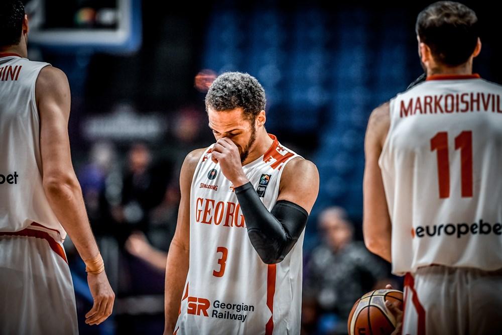 მაიკლ დიქსონი იტალიასთან მატჩში ყველაზე შედეგიანი იყო. ფოტო: FIBA