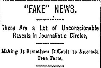 გაზეთი Cincinnati Commercial Tribune, 1890 წ.