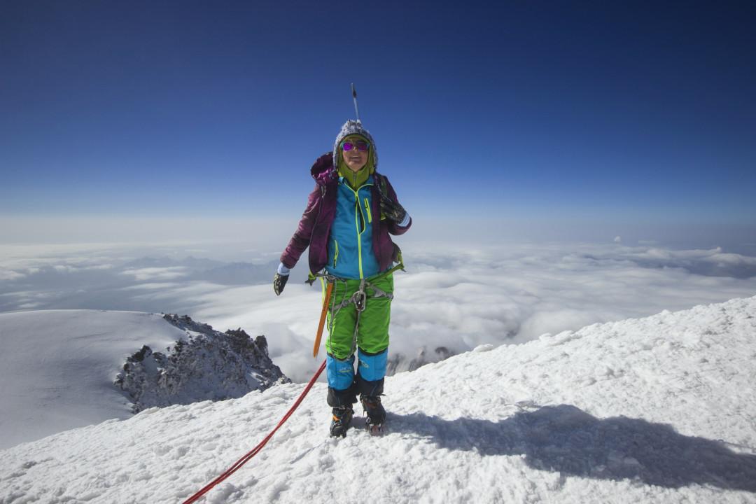 მყინვარწვერი, ზღვის დონიდან 5047 მეტრზე, 25 აგვისტო, ფოტო : ზაზა ბურჯანაძე