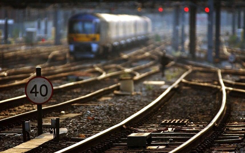 მატარებლის რელსები. ფოტო: Getty Images