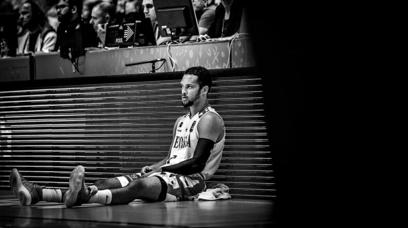მაიკლ დიქსონი. იტალია VS საქართველო. ფოტო: FIBA