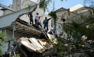 დამანგრეველი მიწისძვრა მეხიკოში. ფოტო: RONALDO SCHMEIDT/AFP
