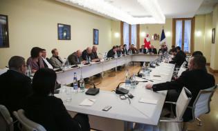 """საქართველოს პრეზიდენტი მზადაა შეხვდეს """"ქართულ ოცნებას"""" და გააგრძელოს შეხვედრები ოპოზიციასთან. ფოტო: პრეზიდენტის ადმინისტრაცია"""