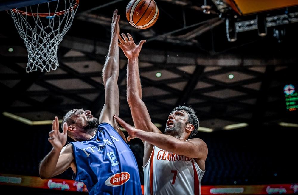 იტალია VS საქართველო. ფოტო: FIBA