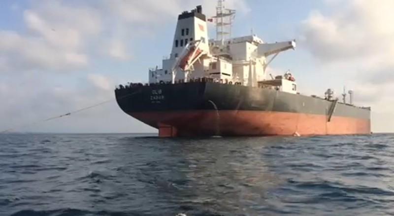 გემი, რომელიც შავ ზღვას აბინძურებს