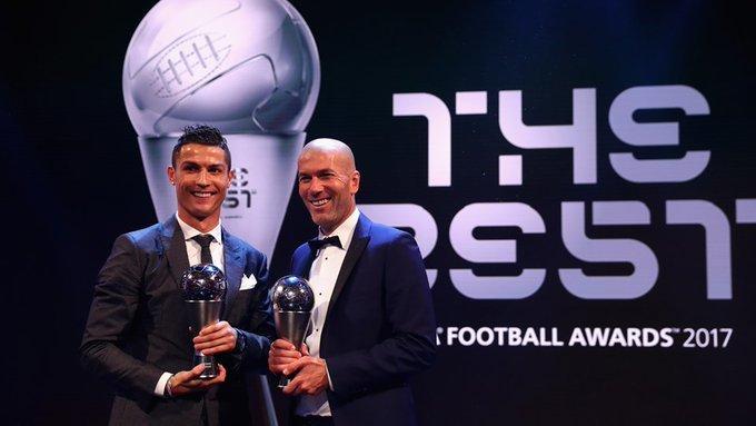 კრიშტიანუ რონალდუ და ზინედინ ზიდანი. ფოტო: UEFA