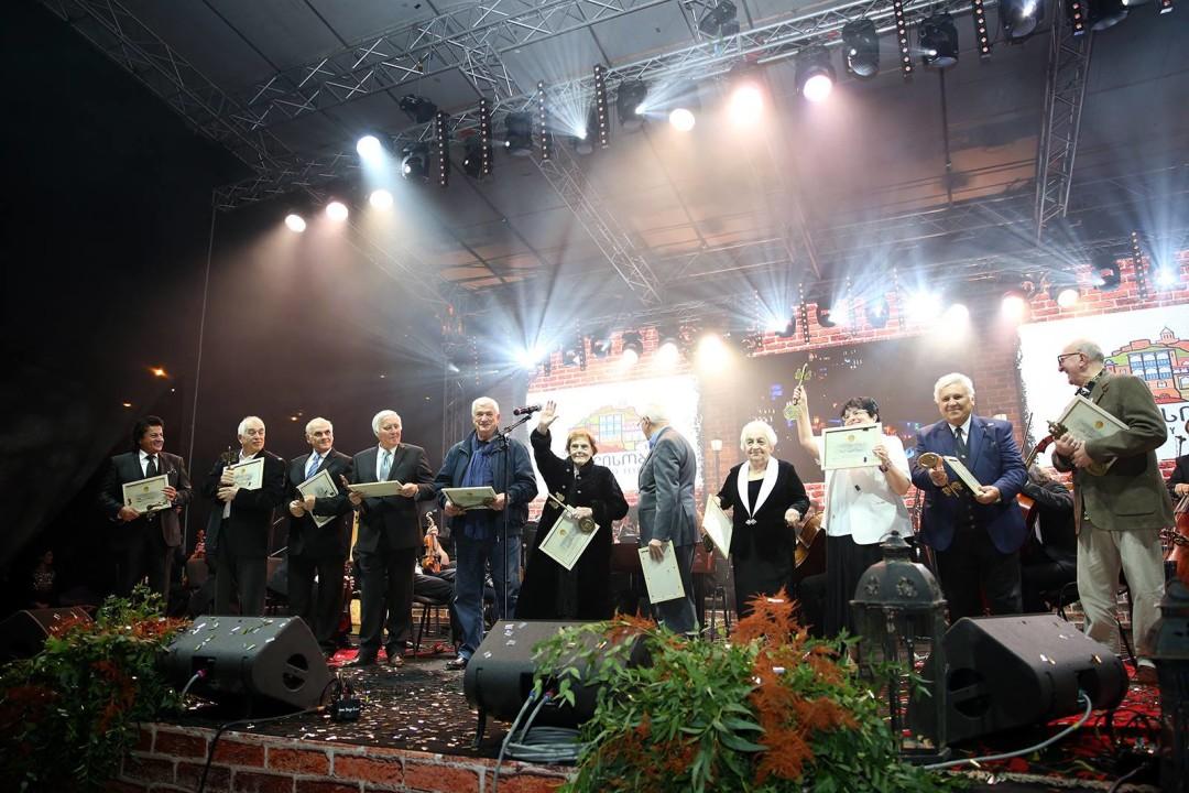 2017 წლის საპატიო თბილისელები. ფოტო: მერია