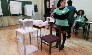 საარჩევნო უბანი. 21 ოქტომბერი, 2017, თბილისი. ფოტო: ნეტგაზეთი