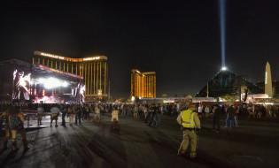 მუსიკალური ფესტივალი ლას ვეგასში, სადაც 2 ოქტომბერს შეიარაღებული თავდასხმა მოხდა. ფოტო: EPA/Bill Hughes