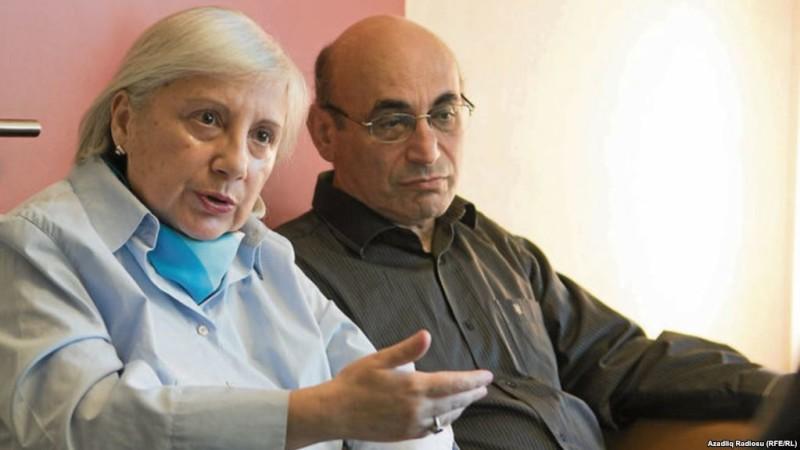ლეილა და არიფ იუნუსები; ფოტო: რადიოთავისუფლება