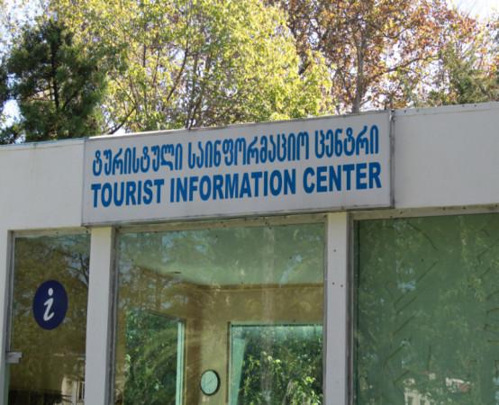 ფაროსანები ფოთის ტურისტული ცენტრის კედლებზე. ფოტო: მიხეილ გვაძაბია/ნეტგაზეთი
