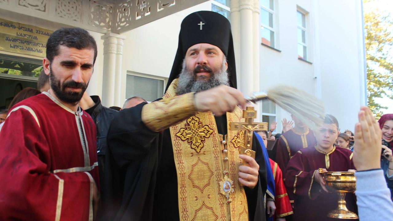 Патриархия Грузии: присутствие священников на партийных мероприятиях не означает поддержку