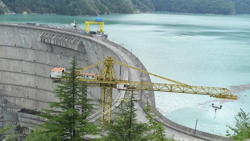 Ингури ГЭС прекращает работу до мая