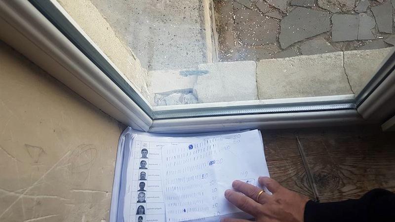 კოორდინატორების მიერ ამომრჩევლების აღრიცხვა ფოტოსურათებიანი სიებით