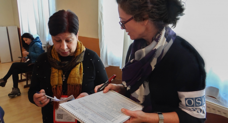 OSCE/ODIHR: მეორე ტურთან დაკავშირებით საარჩევნო კანონმდებლობა ცვლილებებს საჭიროებს