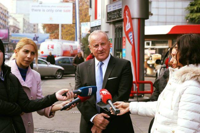საბერძნეთის პეტროლიუმის პრეზიდენტი და აღმასრულებელიდირექტორმა გრიგორის სტერგიოული